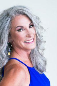 Profile shot of Kim Coleman